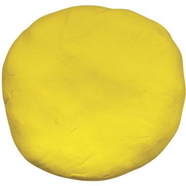 Zakje met gele boetseerklei