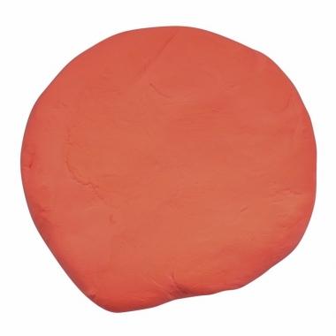 Zakje met oranje boetseerklei