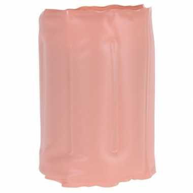 Zalmroze flessen koeler 34 x 15 cm