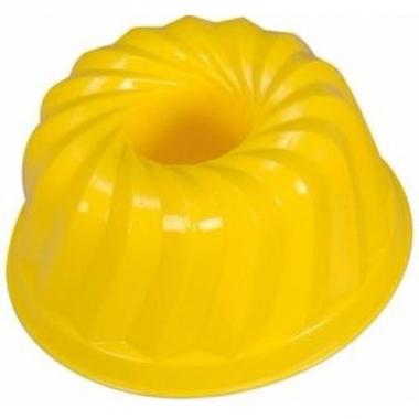 Zand gebak vormpje geel