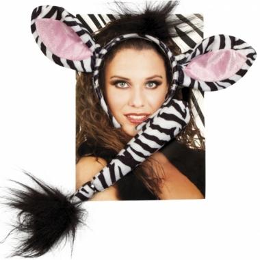 Zebra setje voor volwassenen