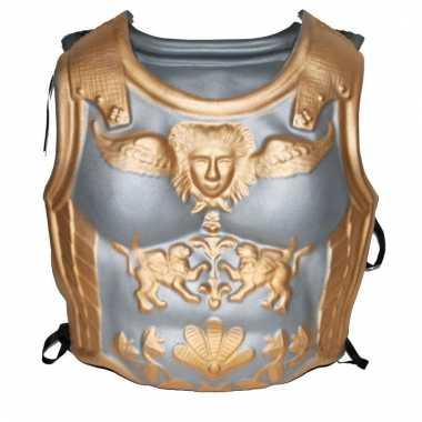 Zilver met gouden harnas romeinen