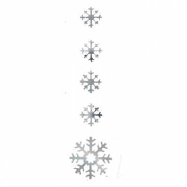 Zilver sneeuwvolk decoratie 140 cm