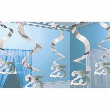 Zilveren rotorspiraal 25 jaar