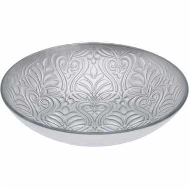 Zilveren serveer schaal 27 cm