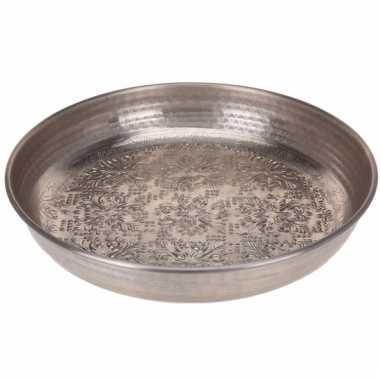 Zilveren serveerschaal 39 cm type 2
