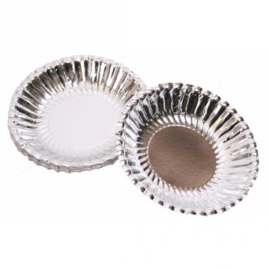 Zilveren snack schaaltjes 16 cm