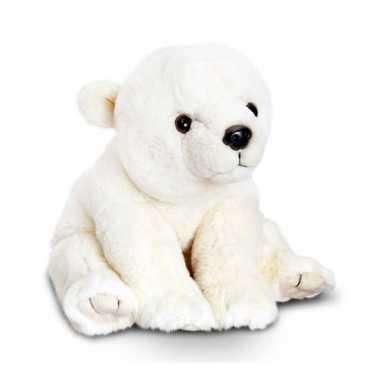 Zittende ijsbeer knuffeldier 45cm