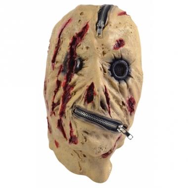 Zombie masker met rits