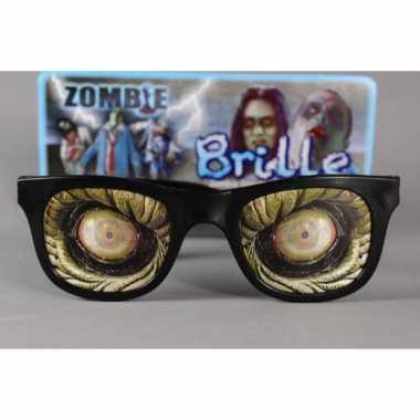 Zombie ogen bril retro vorm
