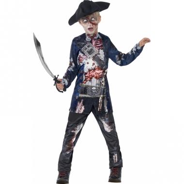 Zombie piraat pak voor jongens
