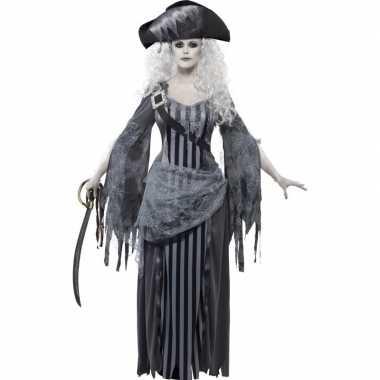 Zombie piraten verkleedkleding voor dames