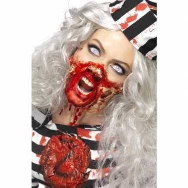 Zombie schmink set met latex