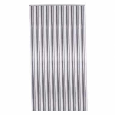 Zomers deurgordijn grijs 90 x 200 cm