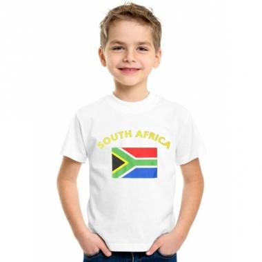 Zuid-afrikaanse vlag t-shirts voor kinderen