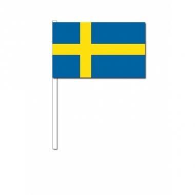Zwaaivlaggen zweden