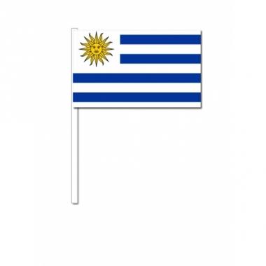 Zwaaivlaggetjes uruguay