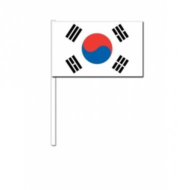 Zwaaivlaggetjes zuid korea