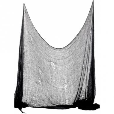Zwart decoratie doek 300 cm