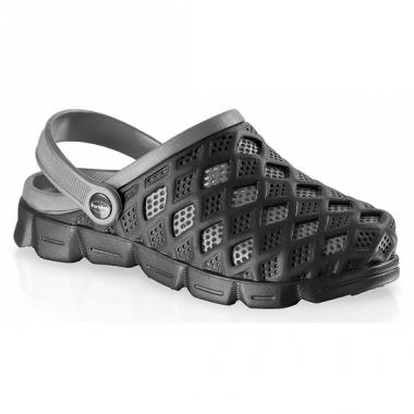 Zwart/grijze heren zwemschoenen