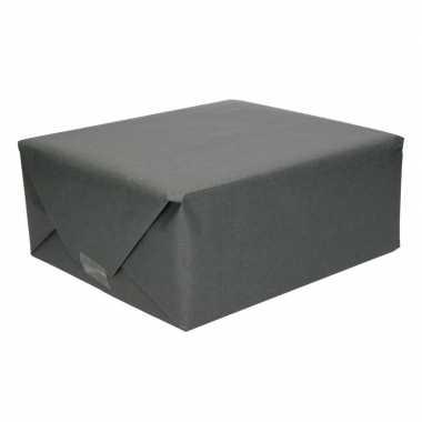 Zwart kraftpapier 70 x 200 cm