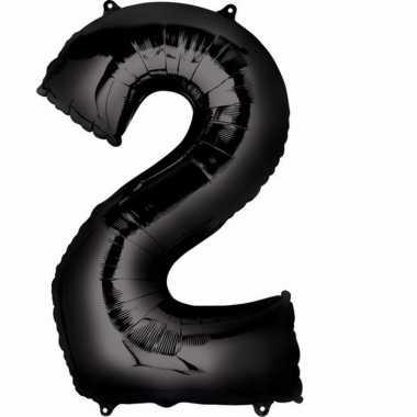 Zwarte ballon 2 jaar