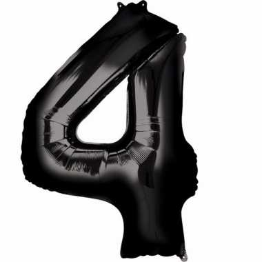 Zwarte ballon 4 jaar