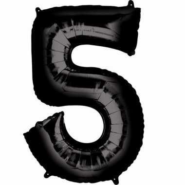 Zwarte ballon 5 jaar