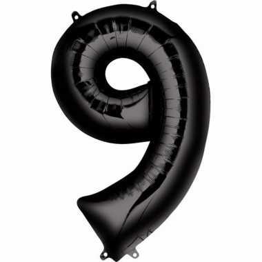 Zwarte ballon 9 jaar