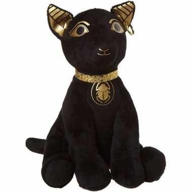 Zwarte heilige katten knuffels 20 cm knuffeldieren