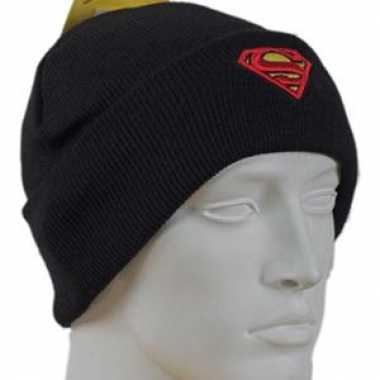 Zwarte superman mutsen