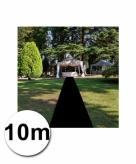 10 meter zwarte lopers 1 meter breed