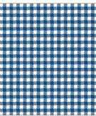 20x feest servetten blauw wit geruit 33 x 33 cm