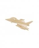 3d puzzel typhoon straaljager van hout