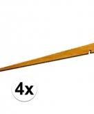 4 houten tentharingen