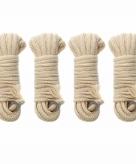 4 stevige scheerlijnen voor uw tent