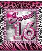 40x servetten sweet 16 verjaardag