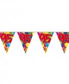 95 verjaardag slingers 10 meter