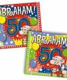 Abraham feestartikelen servetten