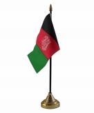 Afghanistan versiering tafelvlag 10 x 15 cm