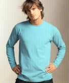 Alan red stretch t-shirt voor heren