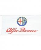 Alfa romeo vlag wit 150 x 75 cm