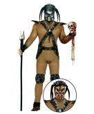 Alien kostuum met accessoires voor heren
