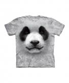 All over print kids t-shirt met panda