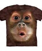 All over print kids t-shirt orang oetang