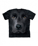 All over print t-shirt met labrador