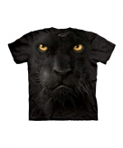 All over print t-shirt zwarte panter