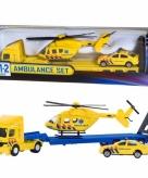 Ambulance speelgoed set