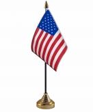 Amerika usa versiering tafelvlag 10 x 15 cm