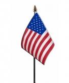 Amerika vlaggetje polyester